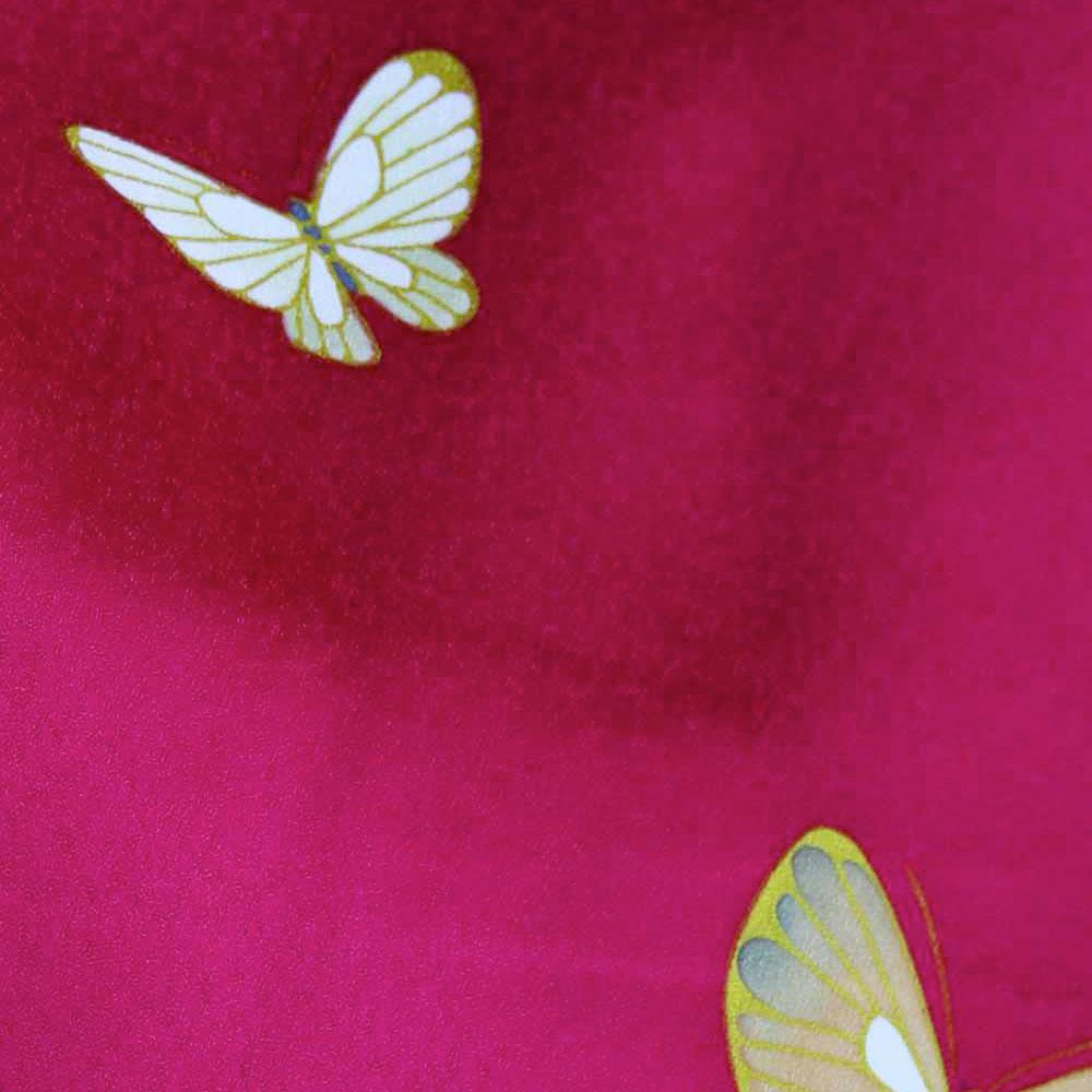 |送料無料|【レンタル】【成人式】 [安心の長期間レンタル]【対応身長155cm〜170cm】【正絹】レンタル振袖フルセット-134|花柄|レトロ|