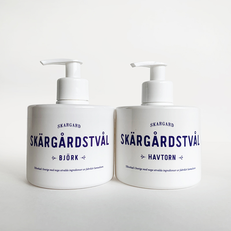 Liquid soap & Hand towel set リキッドソープ&ハンドタオルセット[SKARGARD / VIENAS DU TRYS]