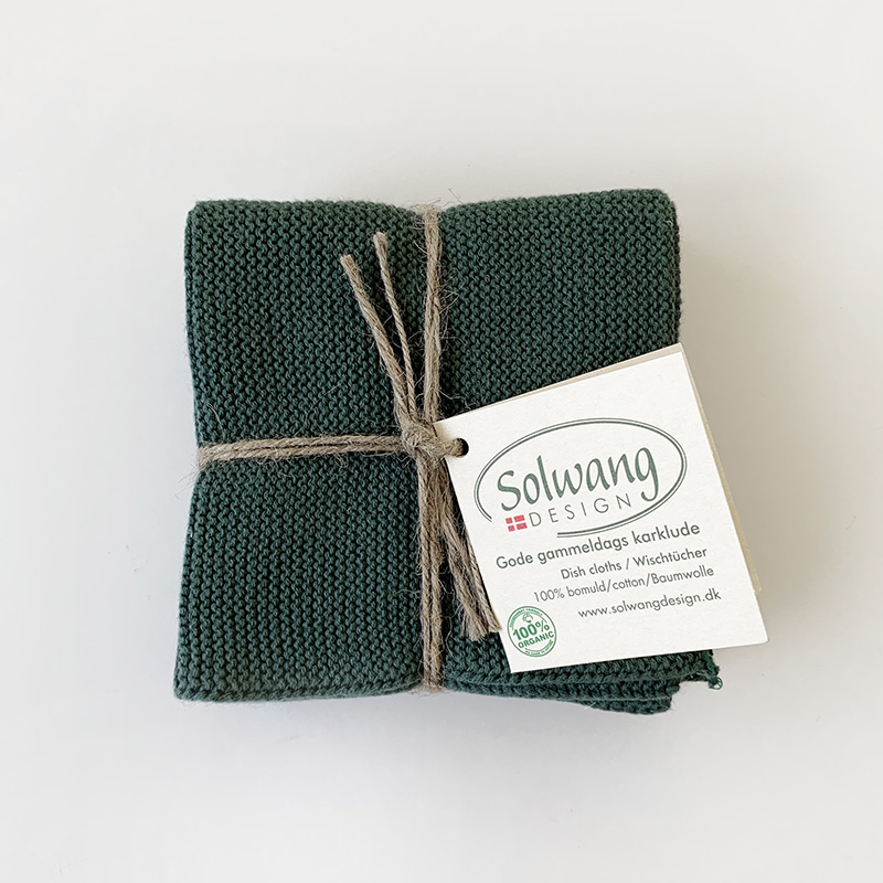Solwang Dish cloth 3pc Sage ソルワン ディッシュクロス 3pcセット セージ