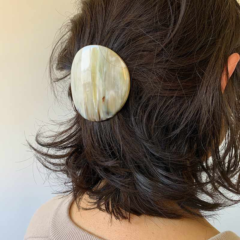 9538 KOST KAMM Hairclip Round 6cm コストカム ヘアクリップ ラウンド 6cm バレッタ