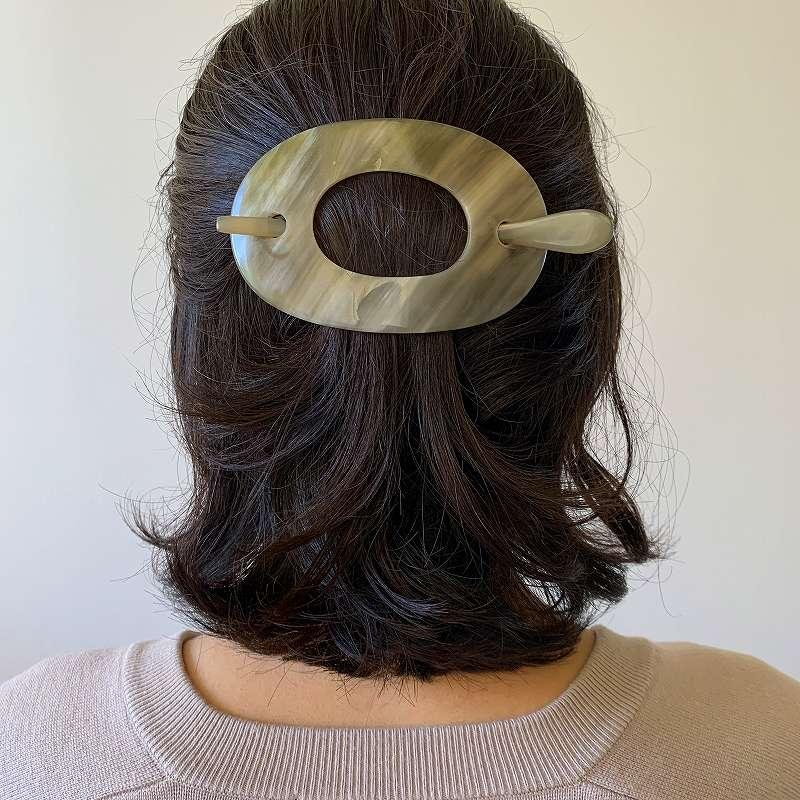 9436 KOST KAMM Horn-Hairclip with stick コストカム ヘアクリップ スティック