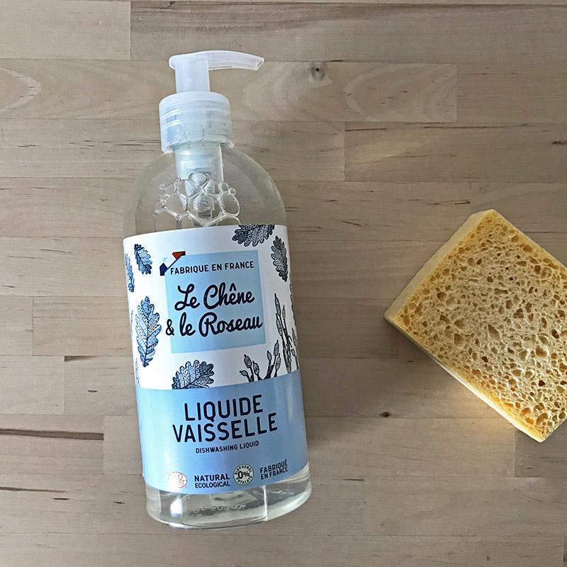 Le Chene & Le Roseau Dishwashing liquid ル・シェンヌ・エ・ル・ロゾー ディッシュウオッシング リキッド 500ML