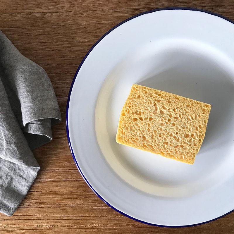 Le Chene & Le Roseau Vegetable sponges ル・シェンヌ・エ・ル・ロゾー ベジタブルスポンジ(3個入り)
