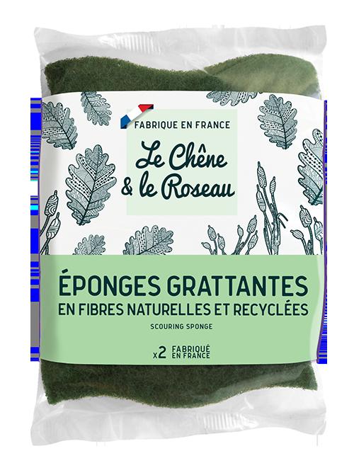 Le Chene & Le Roseau[ル・シェンヌ・エ・ル・ロゾー]スカーリングスポンジ(2個入り)