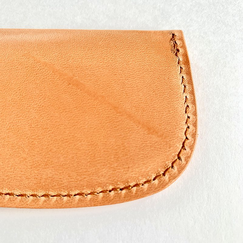 19H20E KOST KAMM Pocket comb 8cm with leather case コストカム ポケットコーム 8cm レザーケース付き