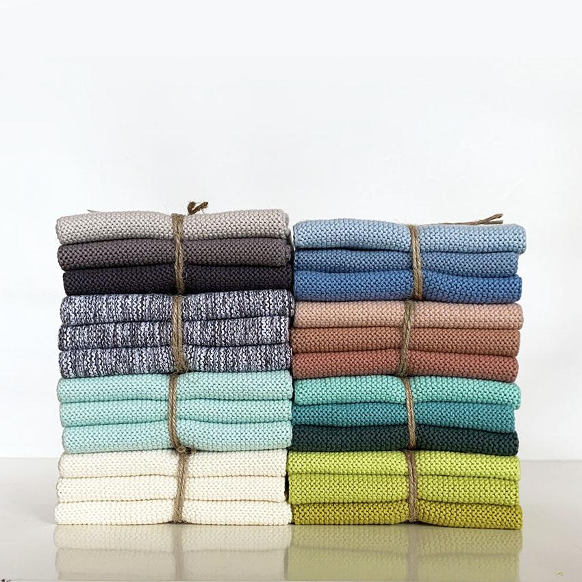 [New Color]Solwang Dish cloth 3pc smokepink gradation ソルワン ディッシュクロス 3pcセット スモークピンクグラデーション