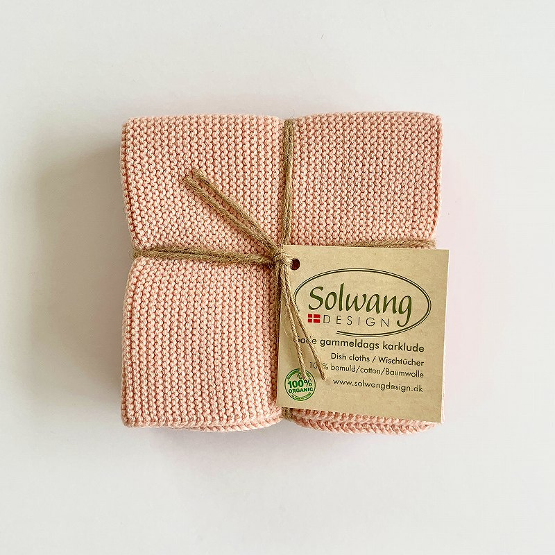 Solwang Dish cloth 3pc pink gradation ソルワン ディッシュクロス 3pcセット ピンググラデーション