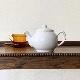 Price&Kensington Teapot white プライス&ケンジントン ティーポット ホワイト 2カップ/ストレーナー付