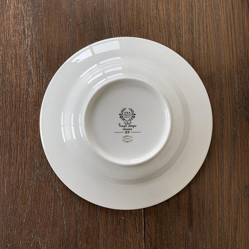 [新入荷]G.D.A. Limoges soup plate ジェーデーアー リモージュ スーププレート 深皿