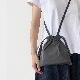 formuniform Drawstring bag with strap XS black フォームユニフォーム ショルダー付巾着バッグ XS ブラック