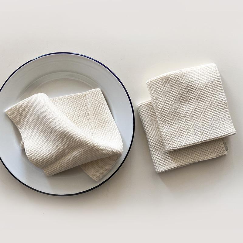 Solwang Dish cloth 3pc ivory ソルワン ディッシュクロス 3pcセット アイボリー