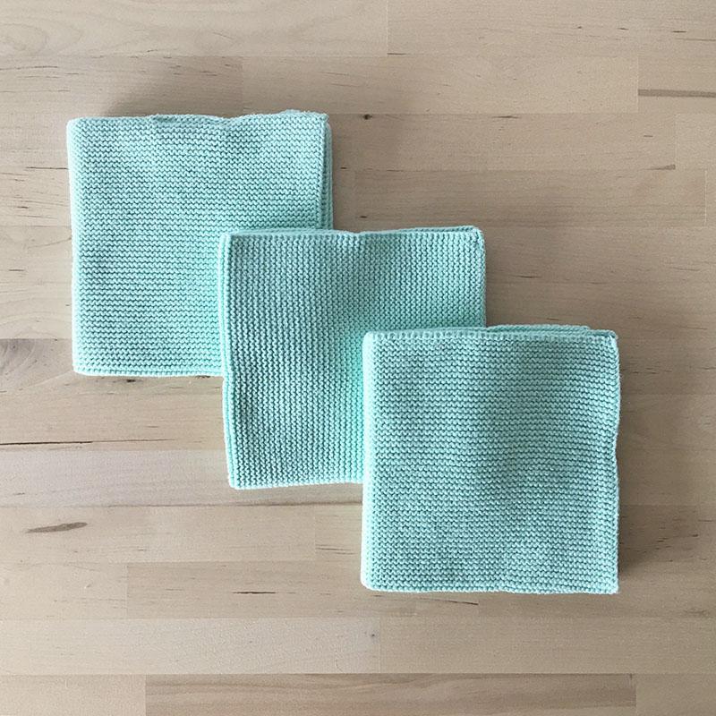 Solwang Dish cloth 3pc Mint ソルワン ディッシュクロス 3pcセット ミント