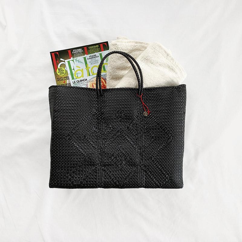 送料無料!Mexico Mercado Bag L Black メキシコ メルカドバッグ L ブラック