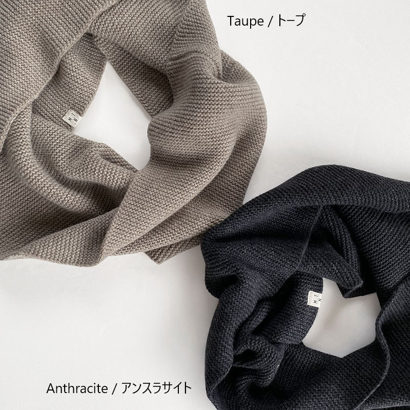 MATONA ECO-cashmere loop scarf  マトナ エコカシミヤループスカーフ