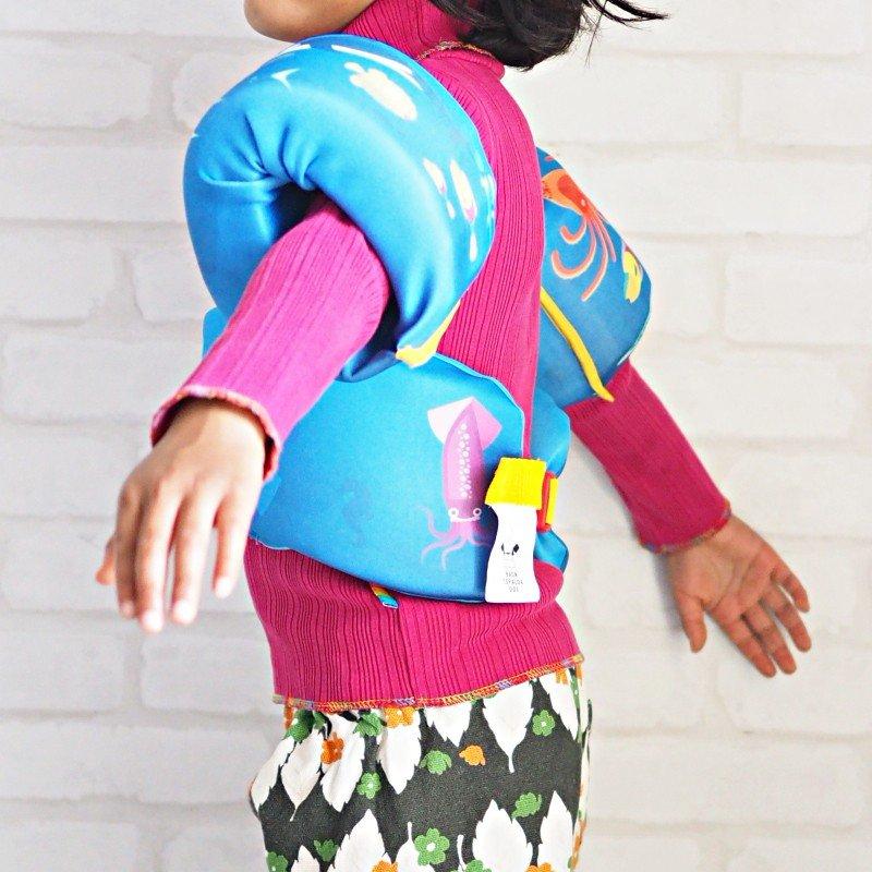 AIRHEAD 子供用 キッズ用 アームリング ライフジャケット 救命胴衣 15-32kg ブルー ピンク 水遊び 浮き プール 海