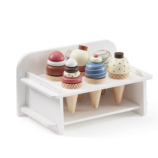kids concept //木製おもちゃのアイスクリームバー