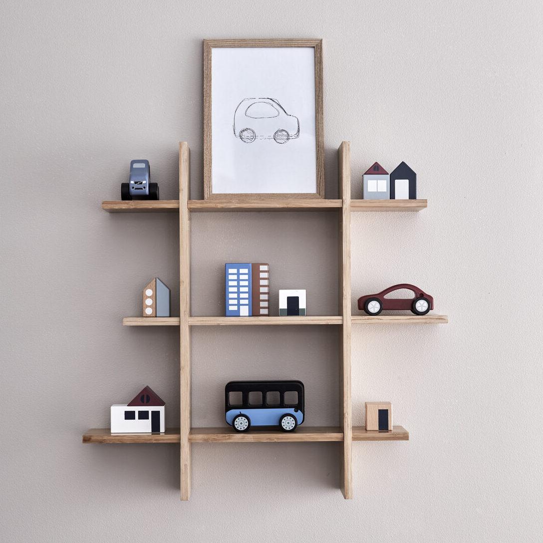 kids concept //木製おもちゃのクルマ(セダン/color)