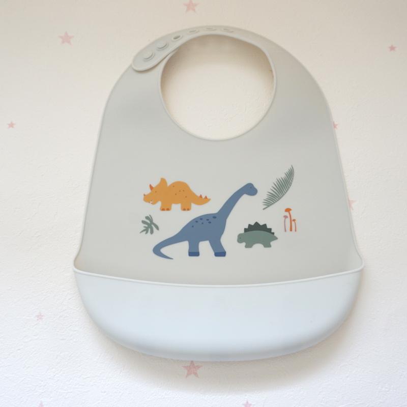 liewood //シリコン恐竜スタイ BPAフリー