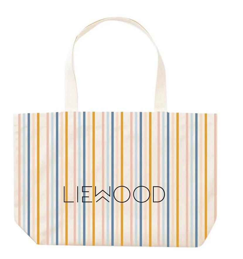liewood //トートバッグ(マルチカラー/ストライプ)