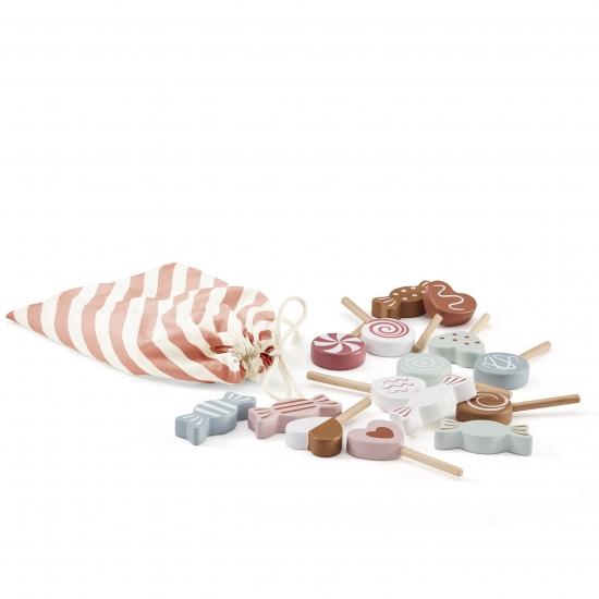kids concept //木製おもちゃのキャンディスティック