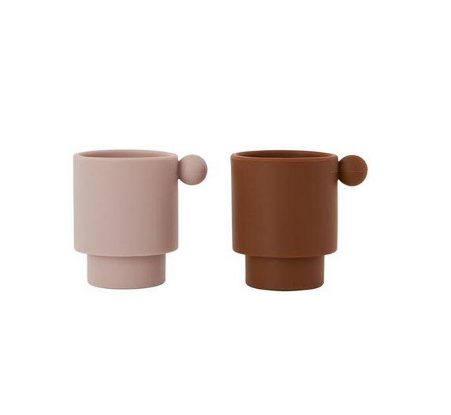 oyoy// inka tiny cups(caramel/rose)