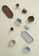 oyoy// inka tiny bowls(Dusty Blue/Clay)