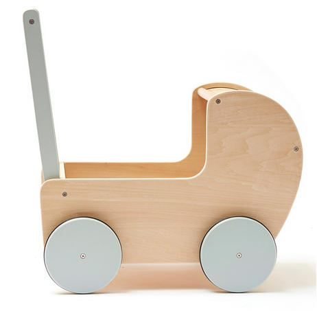 kids concept //木製おもちゃのストローラー(手押し車)