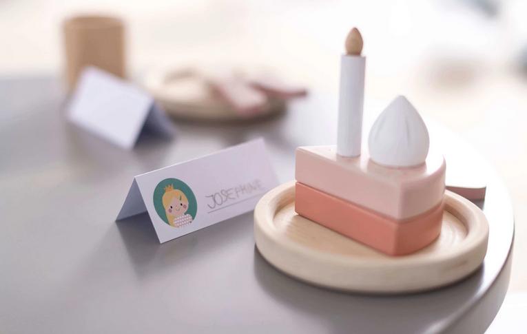FLEXA PLAY //木製おもちゃのケーキ