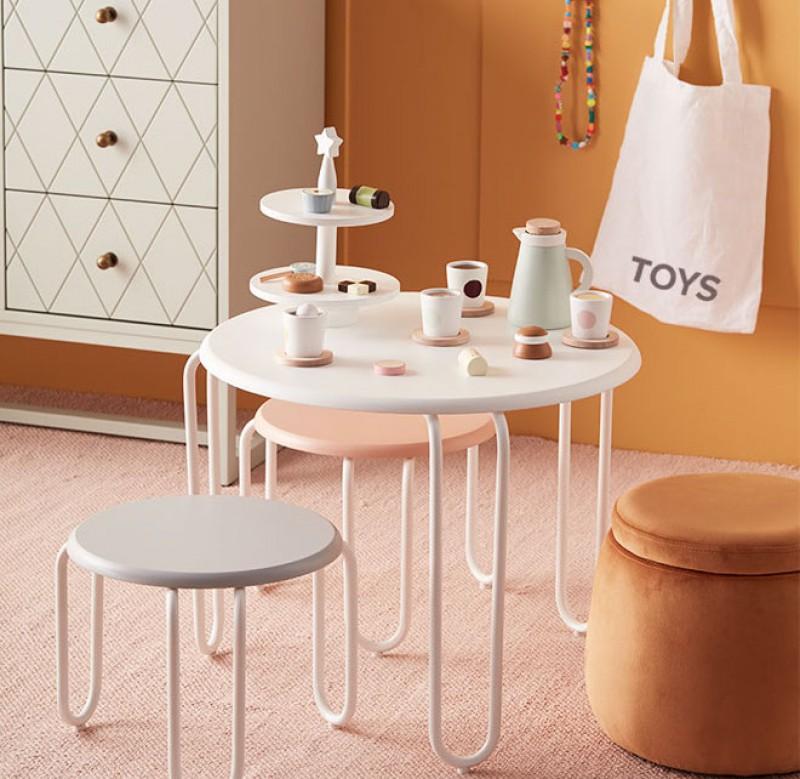 kids concept //木製のケーキスタンド
