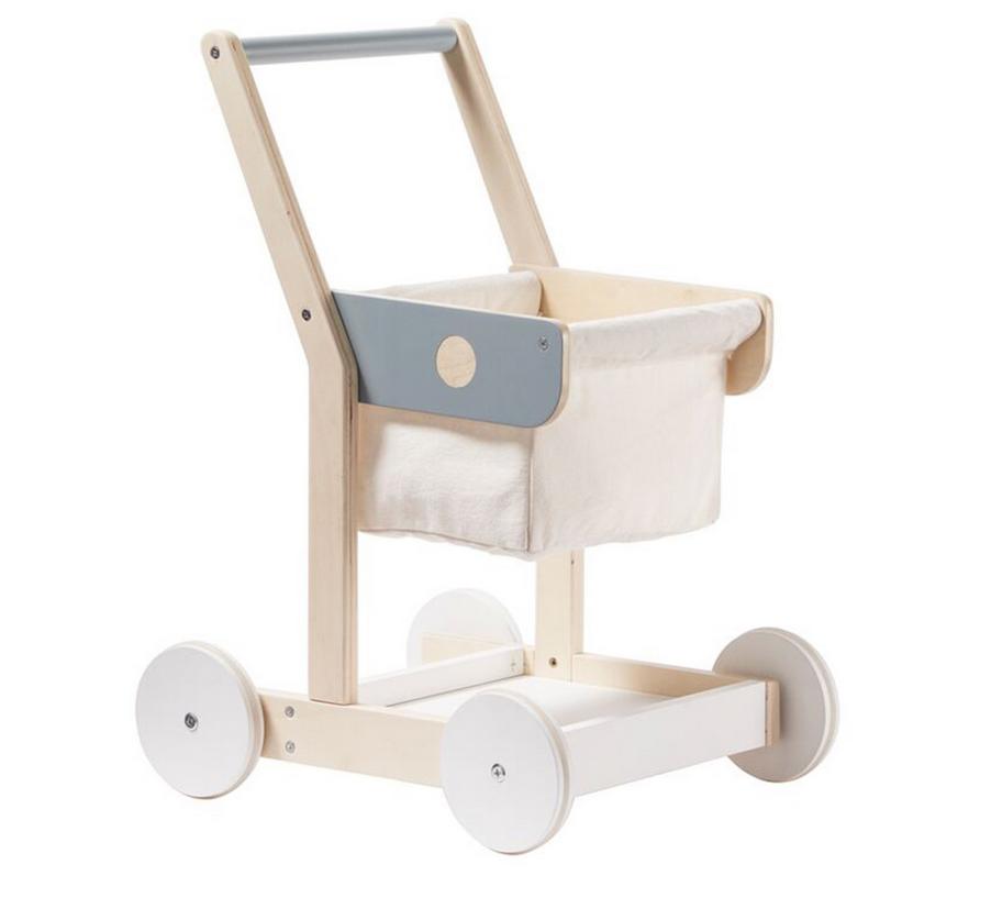 kids concept //木製おもちゃのショッピングカート