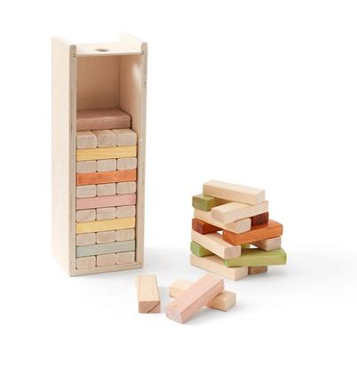 kids concept //木製おもちゃのビルディングブロック