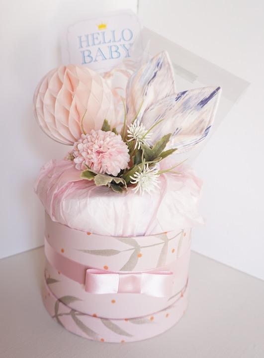 【送料込/ラッピング込】 歯固めとおむつケーキ