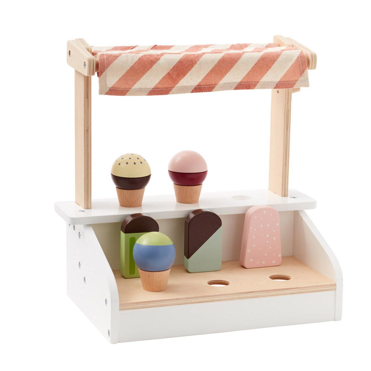 kids concept //木製おもちゃのアイスクリームスタンド