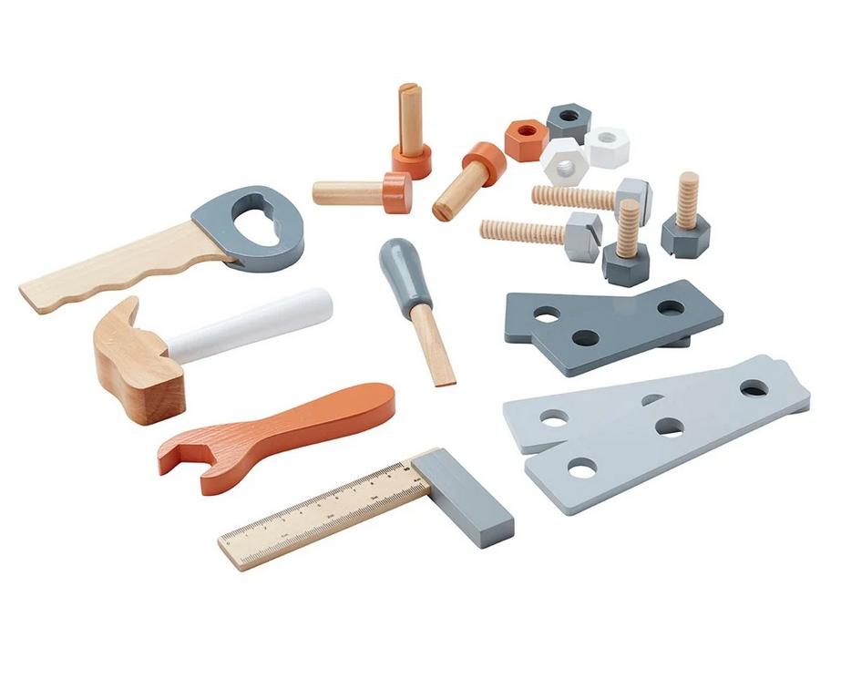kids concept //木製おもちゃのツールボックス