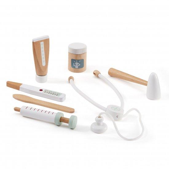 kids concept //木製おもちゃのドクターセット(ホワイト)