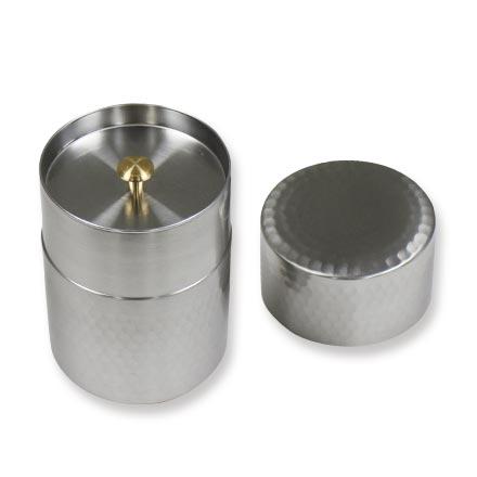 茶筒 ステンレス製