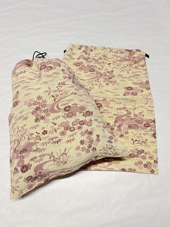upcycle99/着物巾着袋(2枚セット)/Q-272
