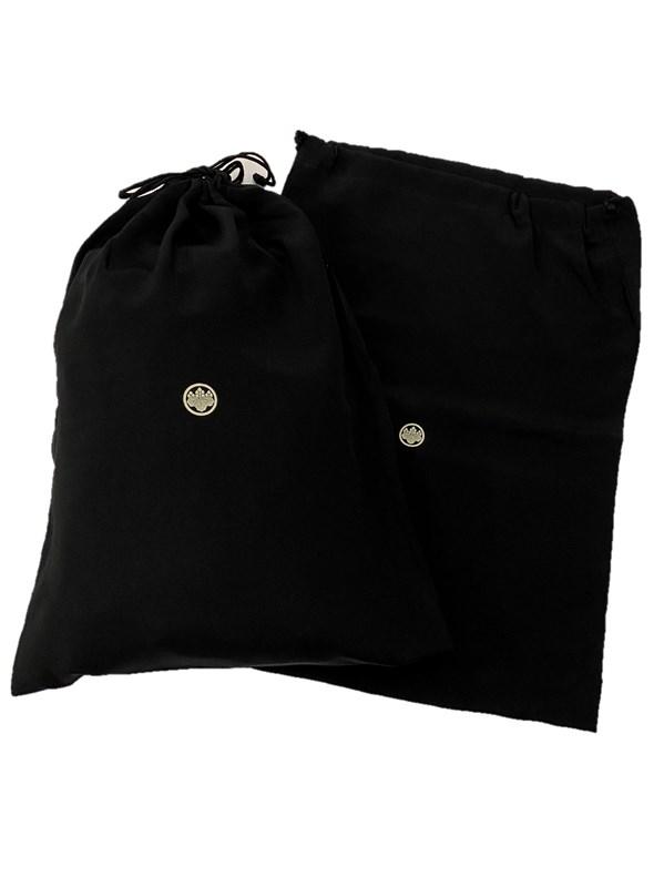 upcycle99/着物家紋入巾着袋(2枚セット)/丸に五三桐/Eタイプ/U-304