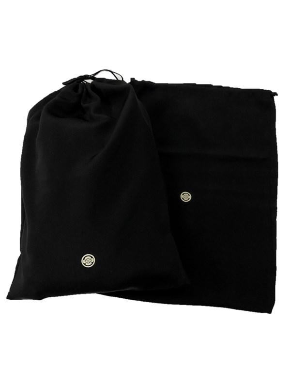 upcycle99/着物家紋入巾着袋(2枚セット)/丸に木瓜/U-311