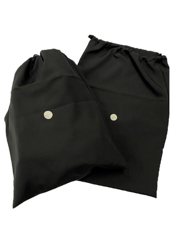 upcycle99/着物家紋入巾着袋(2枚セット)/石持ち/U-215