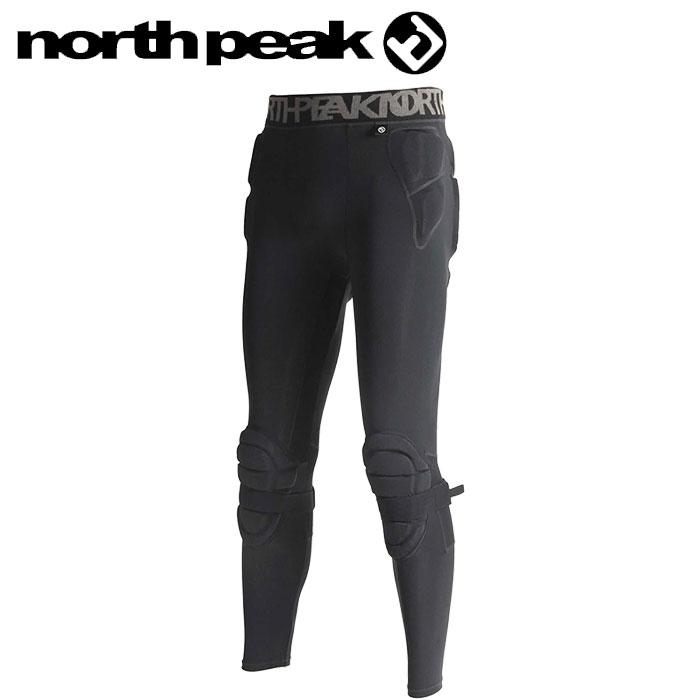 ノースピーク プロテクター ユニセックス ロングタイプ ヒップ 黒 スノーボード スキー NP-1193