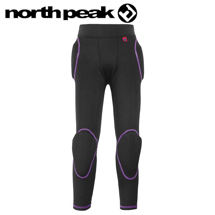 プロテクター ノースピーク キッズ ヒップ 膝 ロングタイプ ジュニア スキー スノーボード NP-1608