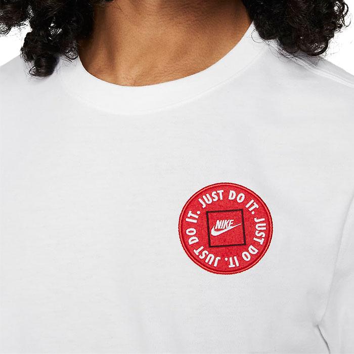 ナイキ メンズ Tシャツ 半袖 スポーツウェア クルーネック トップス ホワイト NIKE DA0248 100
