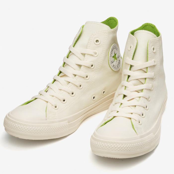 コンバース スニーカー オールスター コスモインホワイト HI ホワイト グリーン シューズ 31303820