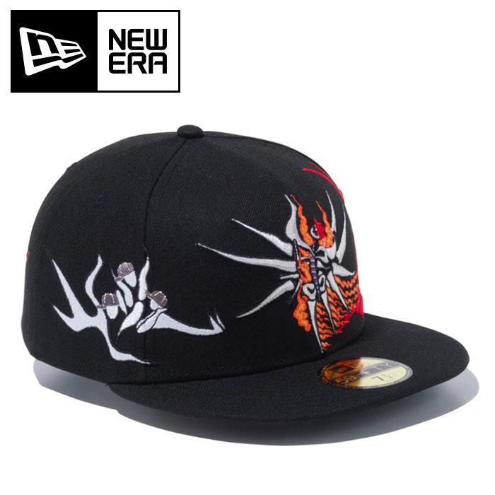 ニューエラ キャップ 岡本太郎 明日の神話 帽子 ベースボールキャップ ブラック 12653866