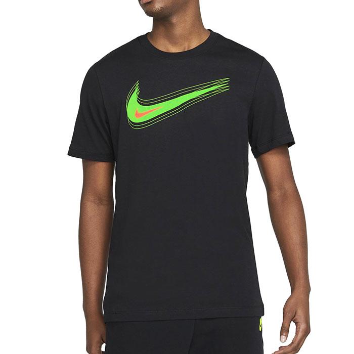 ナイキ メンズ Tシャツ スポーツウェア トレーニングTシャツ スウッシュ 半袖 NIKE DB6471 010