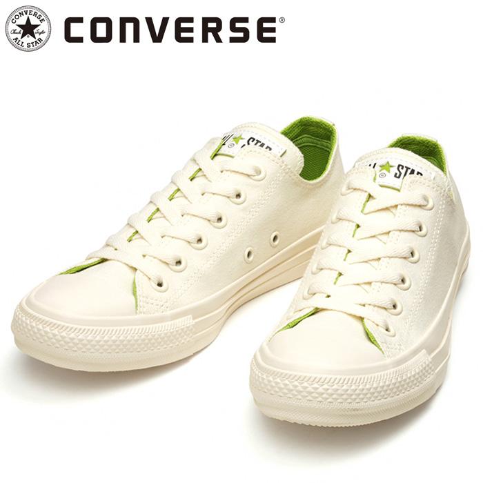 コンバース スニーカー オールスター コスモインホワイト OX ホワイト グリーン シューズ 31303820