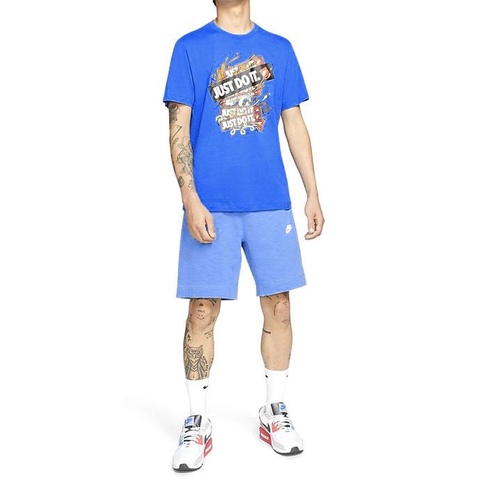 ナイキ 半袖 メンズ Tシャツ カジュアル クルーネック イラストレーション JDI NIKE DD1263 435