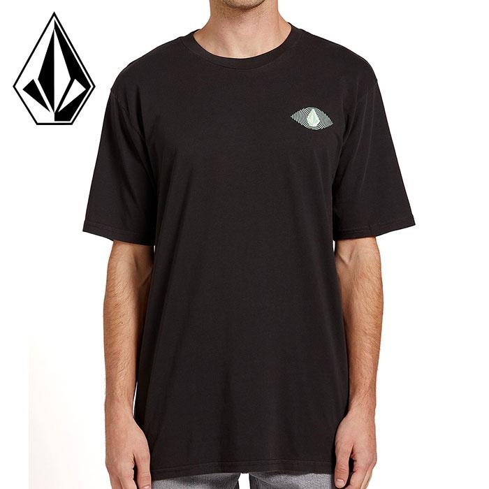ボルコム メンズ Tシャツ 半袖 プリントT ストリート ブラック SHORT SLEEVE TEE VOLCOM A4322000