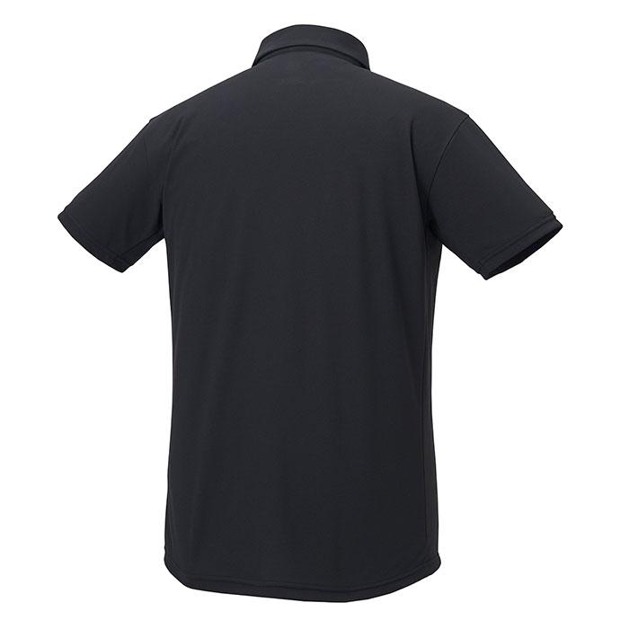 デサント 半袖 ポロシャツ トレーニングウェア サンスクリーン UVカット ブラック DESCENTE DMMRJA70